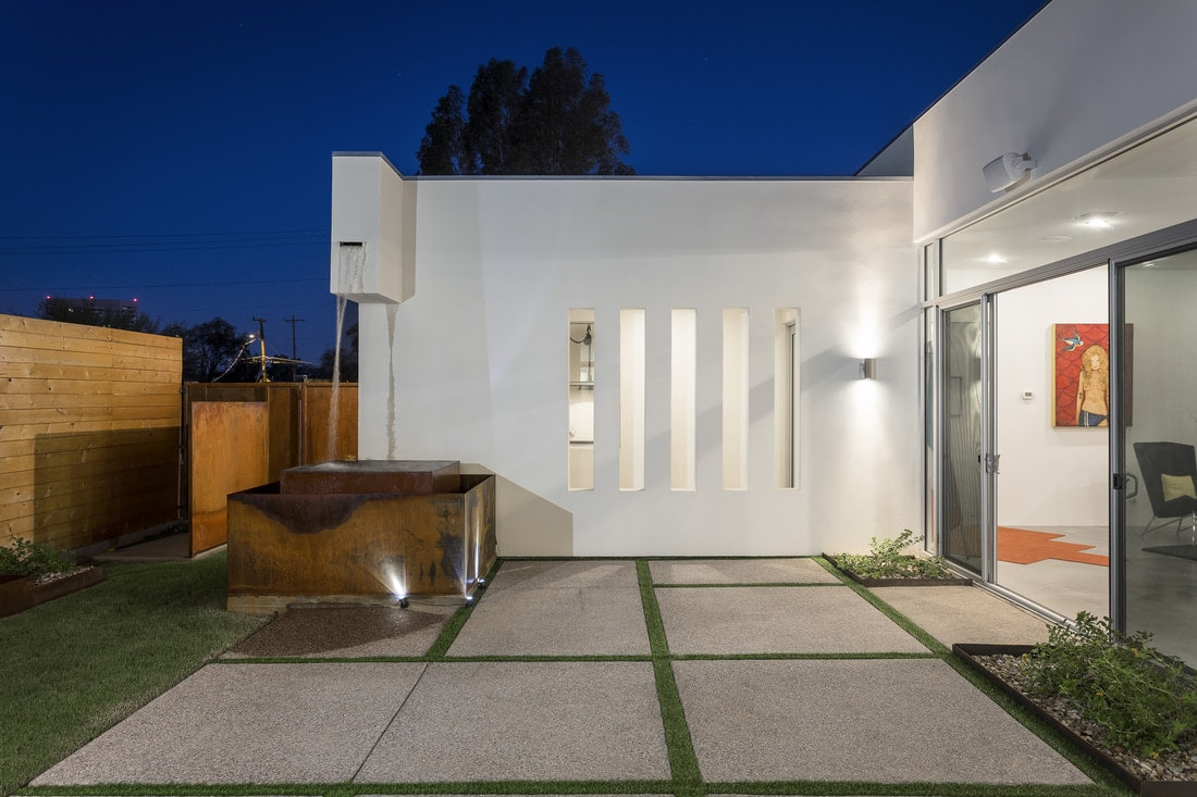 The courtyard house rd design team architects in phoenix az for Home design 85032